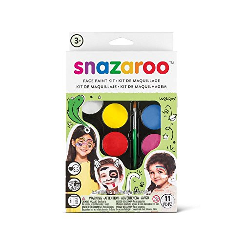 Snazaroo Palette Kit Face Paint, Rainbow -