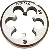 20mm X 1 Metric Right Hand Round Die, Machine Thread Die M20 X 1.0mm Pitch(Alloy tool steel Material, not HSS)