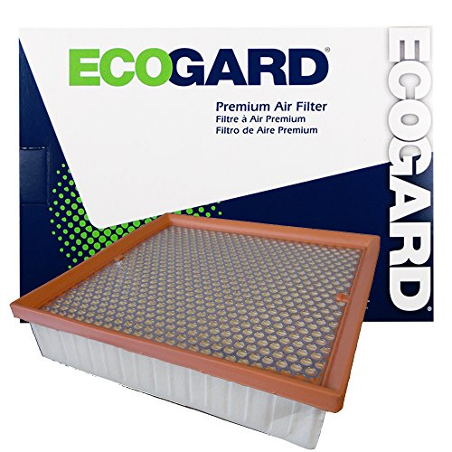 ECOGARD XA10236 Premium Engine Air Filter Fits Jeep Grand (Jeep Cherokee Engine Parts)