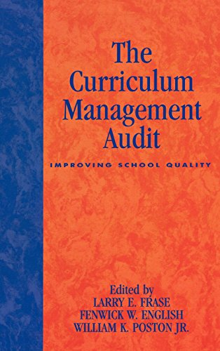 The Curriculum Management Audit