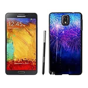 NEW Custom Designed For Ipod Touch 5 Case Cover Phone With New Year Fireworks HD_Black Phone