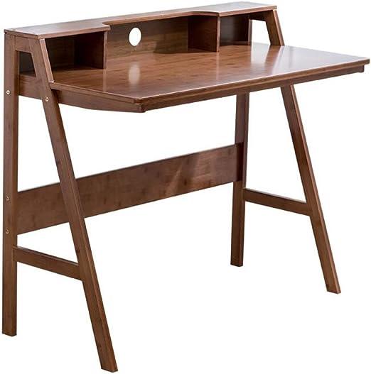 Mesas Mueble Bambú Natural Computadora Escritorio Mesa De Estudio ...