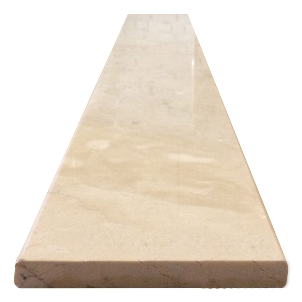 Vogue Tile Crema Marfil Beige Marble Threshold (Marble Saddle) - Polished - (6'' x 36'') by Vogue Tile (Image #2)