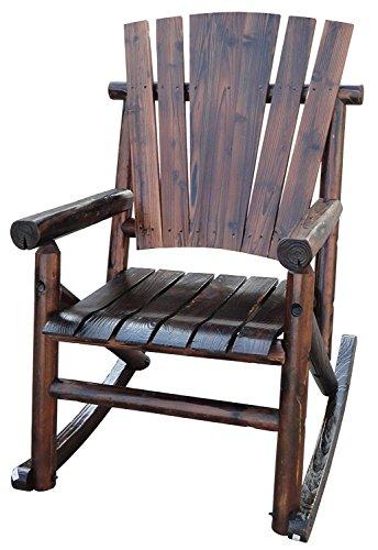 Leigh Country Char-Log Rocker Chair Combo Rocker Chair 2 End Table