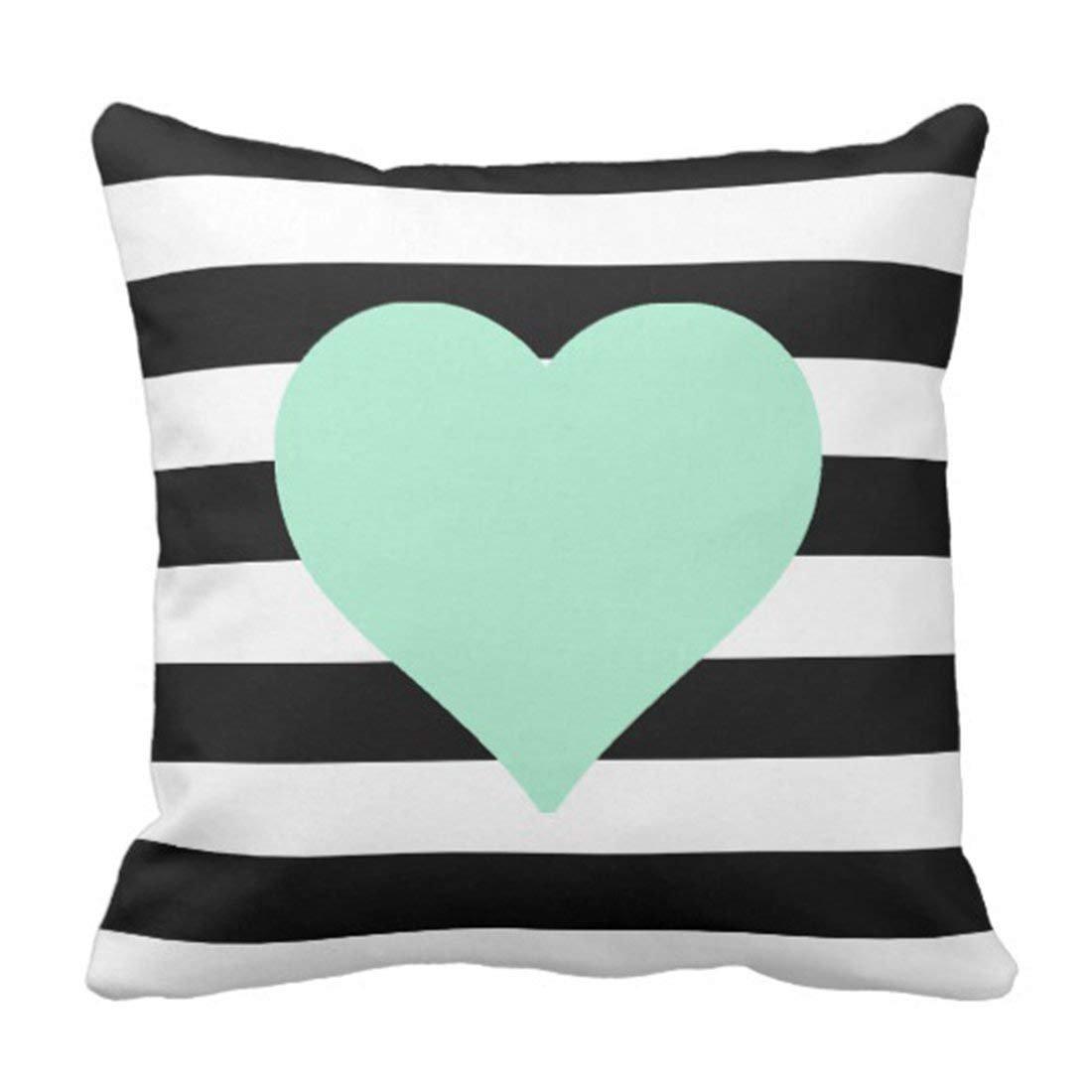Amazon Com Ghedpo Stripes Black And White Striped Mint Cute
