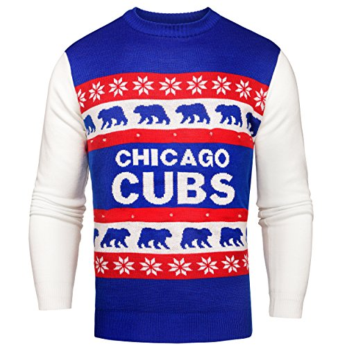 MLB Chicago Cubs One Too Many Light Up Sweater
