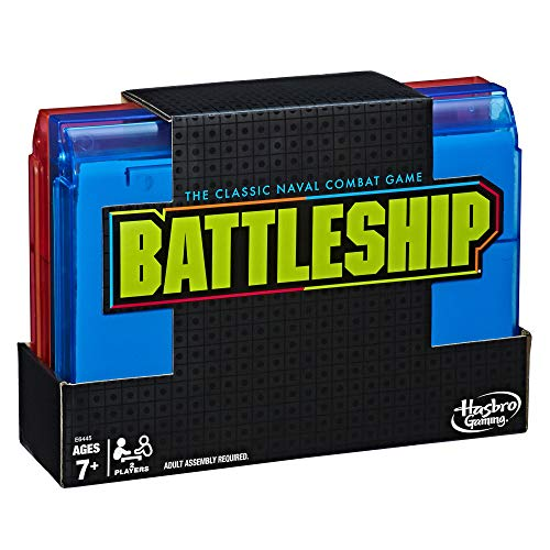 Battleship Neon Pop Classic Board Game for Kids 7+