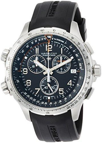 [Hamilton] Hamilton reloj caqui X viento GMT cronógrafo h77912335 hombre [Regular importados]: Amazon.es: Relojes
