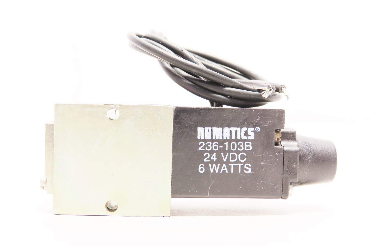 NUMATICS L01SA459B011B61 Pneumatic Solenoid Valve 24V-DC 1//8IN NPT