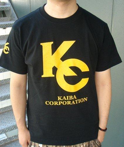 遊戯王デュエルモンスターズ 海馬コーポレーションTシャツ ブラック サイズ:M