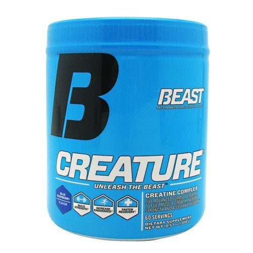 Beast Sports Nutrition Creature - Blue Raspberry - 60 Servings