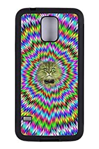 Generic Custom Picture Fun Cat TPU Rubber Snap On Skin Cover Back Cell Phone Case For Samsung Galaxy S5