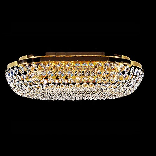 Kolarz - Lámpara de techo Charlotte 24 quilates oro Mano ...