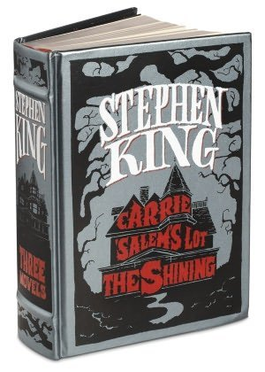 Stephen King: Three Novels - Carrie, Salem's Lot, The Shining (King Leather Stephen)