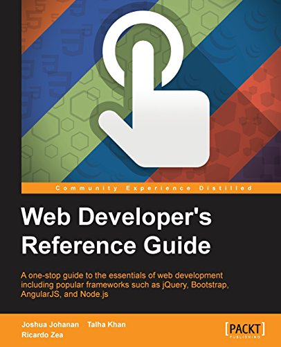Web Developers Reference Guide Front Cover