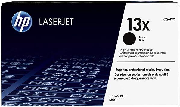 Hp 13x Q2613x Schwarz Original Toner Mit Hoher Reichweite Für Hp Laserjet 1300 Hp Laserjet 1300n Bürobedarf Schreibwaren