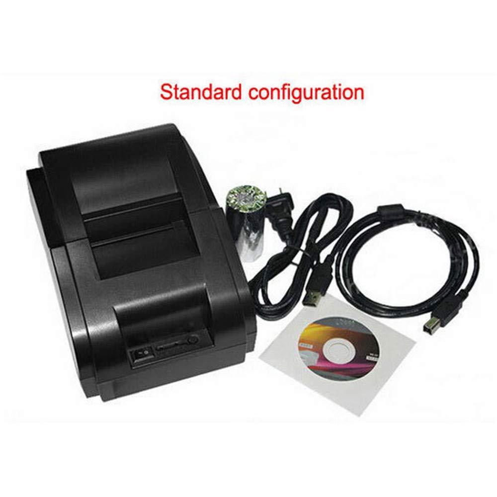 58mm Thermobondrucker Tragbarer Hochgeschwindigkeits-USB-Anschluss Drahtloser Ticketdrucker Kompatible Bondruckmaschine