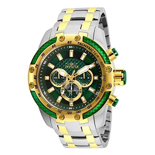 (Invicta Speedway Chronograph Green Dial Mens Watch 25948)