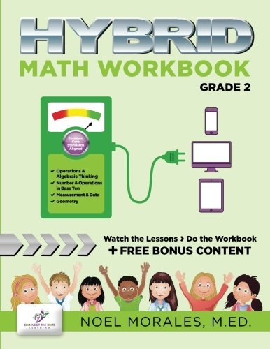 Amazon.com: Hybrid Math Workbook Grade 2 (9781512098402): Noel ...