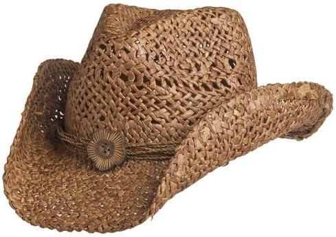 Bullhide Anytime Raffia Straw Cowboy Hat
