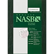 NASB Wide - Margin Reference Green Hardcover Ns743Xrm