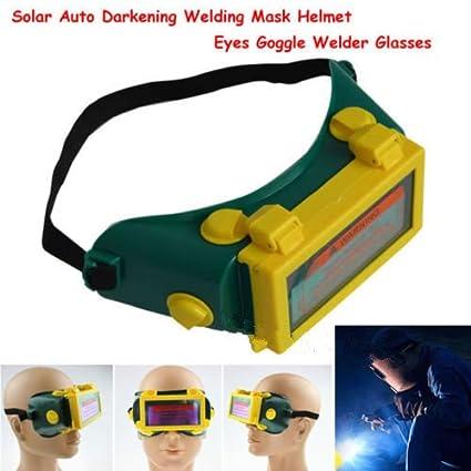 Yosoo® Pro Auto Solar Oscurecimiento de Soldadura Casco Máscara Ojos Goggle Soldador Gafas Arco DIN3
