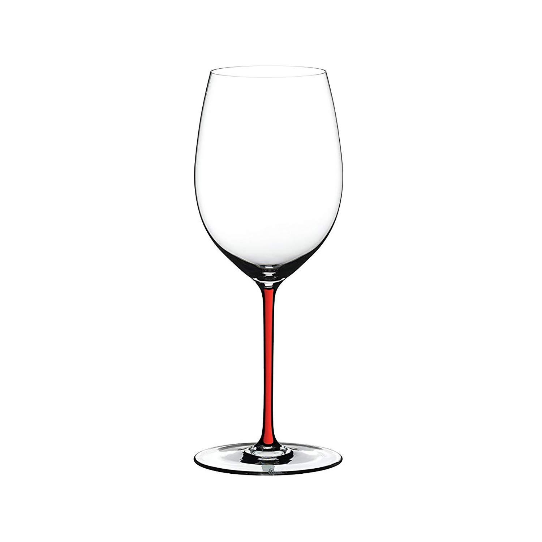Riedel Fatto A Mano Cabernet Wine Glass, Red