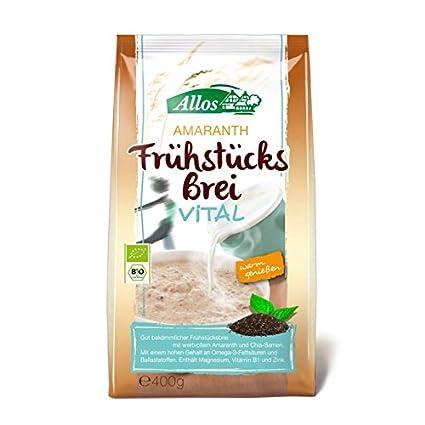 ALLOS Amaranto früchstücks brei Vital + Gia - 400 g bio ...