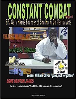 Book Constant Combat Martial Arts Magazine Volume 2