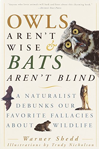 Bat Species (Owls Aren't Wise & Bats Aren't Blind: A Naturalist Debunks Our Favorite Fallacies About Wildlife)