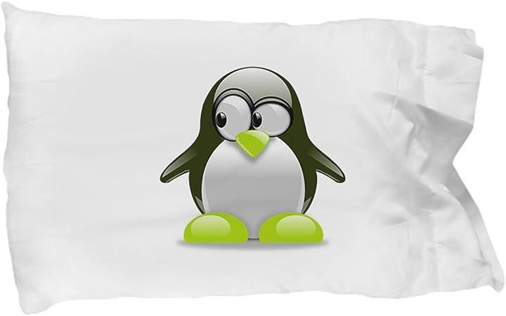 CHRISTMAS PILLOWCASE PENGUINS Kids Pillowcase Holiday Pillowcase Penguin Pillowcase Christmas Bedding Holiday Bedding Kids Gifts