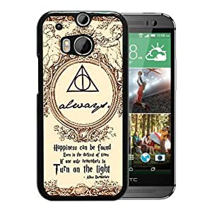 For HTC ONE M8,Marauder's Map Harry Potter Black Protective Case For HTC ONE M8