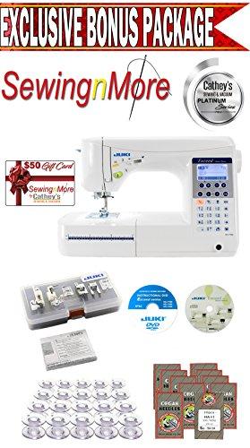 Juki Exceed HZL-300 Exceed Home Deco Sewing and Quilting Machine w/ Exclusive Platinum Series Bonus Package!