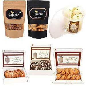 Ghasitaram Gifts Holi Sweet Express Delivery Holi Hampers Best of 6