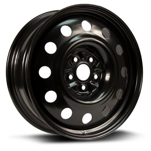 Aftermarket Steel Rim 18X7, 5X114.3, 67.1, +40, black finish (MULTI APPLICATION FITMENT) X48567