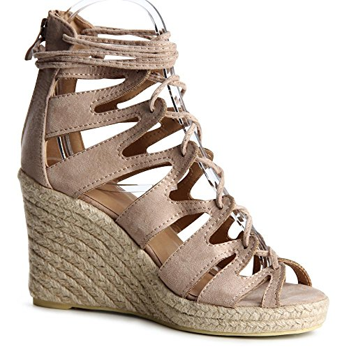 topschuhe24 - Zapatos de vestir para mujer Beige