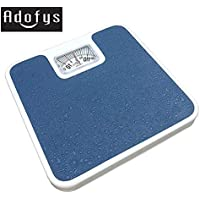 Adofys Bolt Large Surface Iron Analog Weighing Scale For Human Body (Multi Colour)