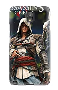 Snap-on Assassin's Creed Revelations Case Cover Skin Compatible With Galaxy Note 3
