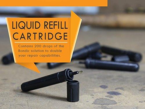 Liquid Plastic That Hardens : Bondic liquid refills pack the world s first