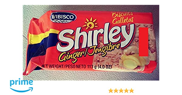 Amazon.com: Shirley Ginger Biscuits - 3.7 Oz - 4 Pack: Health & Personal Care