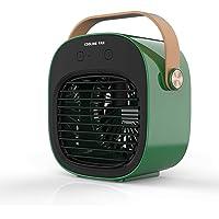 Masaüstü Klima Vantilatörü, Guangruiorrty Taşınabilir Masaüstü Klima Su Buğu Fanı Mini Hava Soğutucu USB Şarj Yaz Isı…