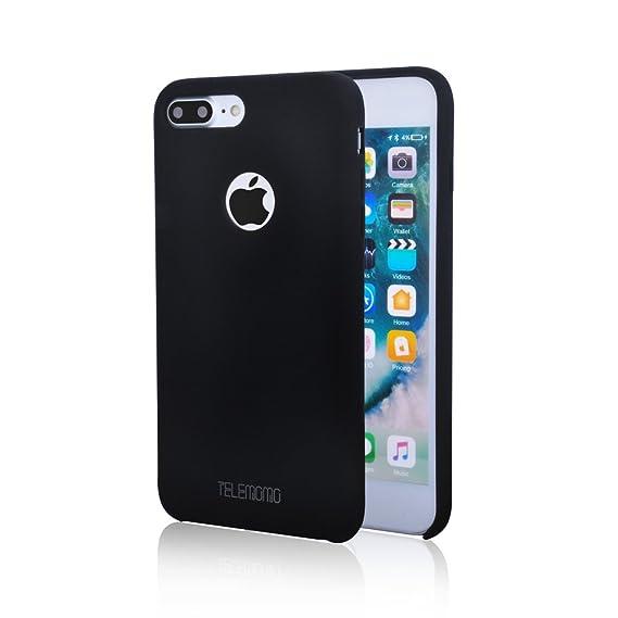 cc6df9bc9 Silicone iPhone 7 Plus Case,TELEMOMO Liquid Silicone Phone Cover with Soft  Microfiber Lining,