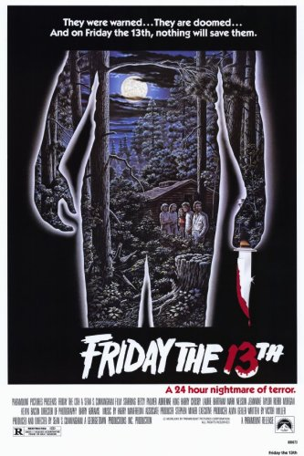 Friday the 13th  - 11 x 17  - Style A