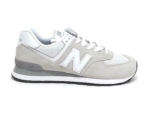Sneakers Balance E8102Amazon New Ghiaccio UomoMl 574Camoscio kwPTXZiOu