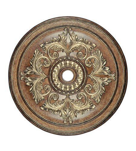 Lighting Accessories Ceiling Medallion with Venetian Patina Finish 49 inch - World of Crystal