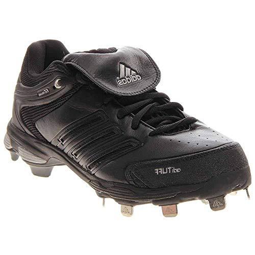 - adidas Men's Diamond King Ds Baseball Shoe,Black/Blk/Metsilver,16 M