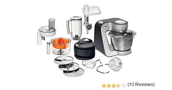 Bosch MUM56Z40 - Robot de cocina, color plata: Amazon.es: Hogar
