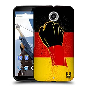 Head Case Designs Breakthrough Football Ole Protective Snap-on Hard Back Case Cover for Motorola Nexus 6 LTE