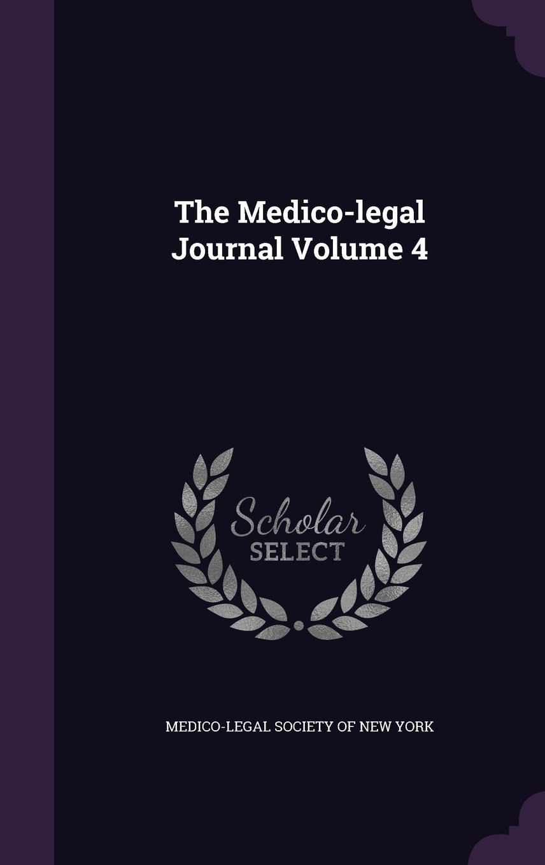 The Medico-Legal Journal Volume 4 PDF