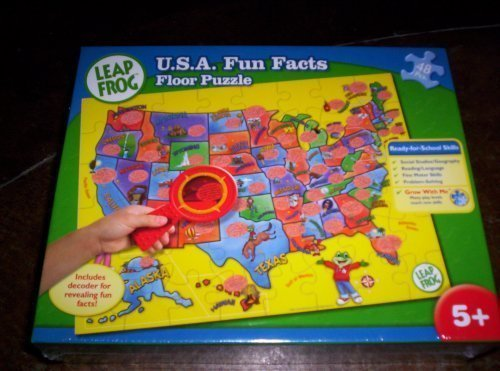 Leap Frog USA Fun Facts Floor Puzzle